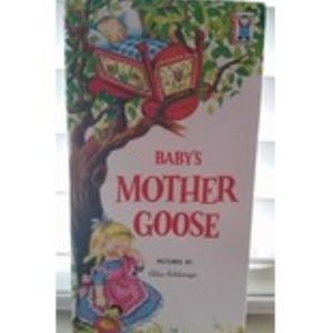 Baby's Mother Goose Book 1959 Vintage Rare